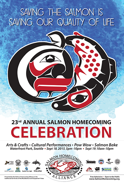 2015 Salmon Homecoming Celebration Poster