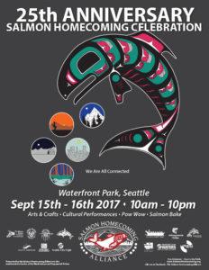 2017 Salmon Homecoming Poster