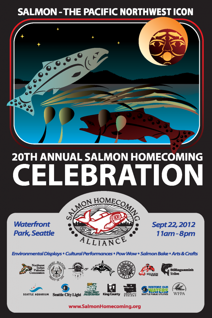 2012 Salmon Homecoming Poster