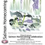 Salmon Homecoming 2007 event poster