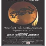 Salmon Homecoming 2008 event poster