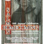 Salmon Homecoming 2010 event poster