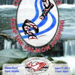 Salmon Homecoming 2011 event poster