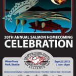 Salmon Homecoming 2012 event poster