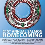 Salmon Homecoming 2013 event poster