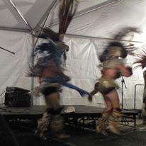 photo of Native American dancers